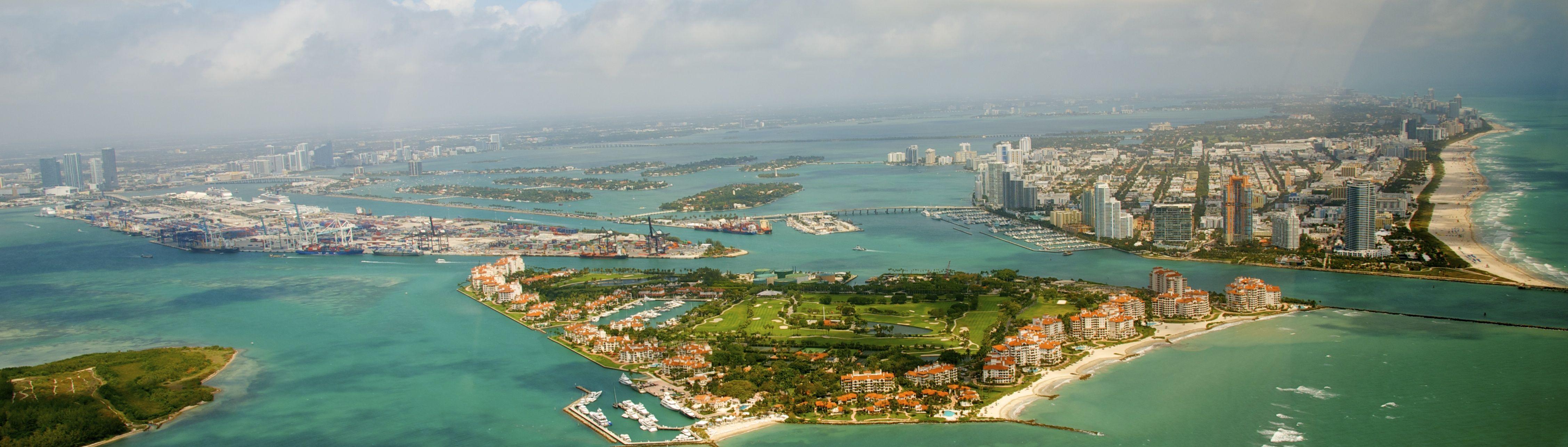 Aerial Tour cityscape