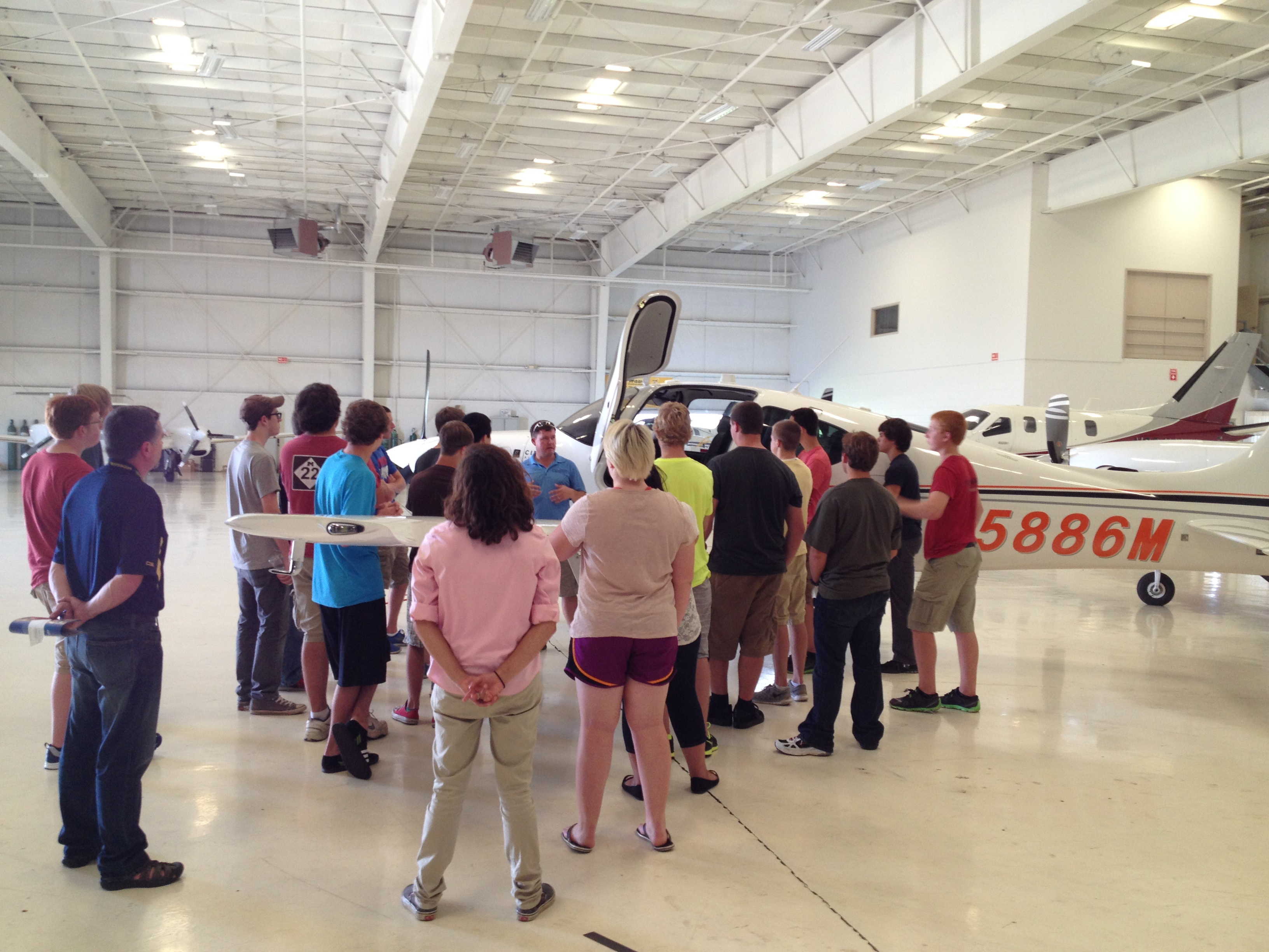 High School flight training